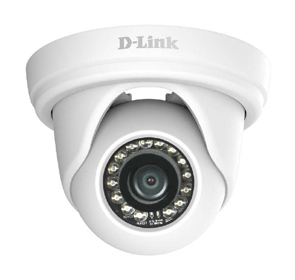 D-LINK DCS-4802E Vigilance Full HD Day & Night Outdoor Turret PoE Network Camera