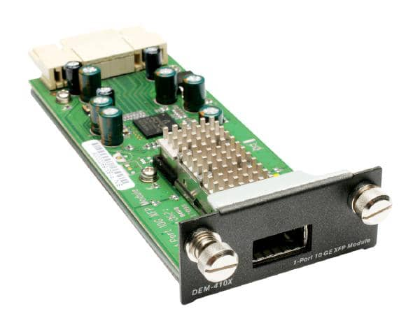 D-LINK DEM-410X 1-Port 10-Gigabit XFP Module for DGS-3400/DGS-3600/DWS-4026