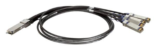 D-LINK DEM-CB100QXS-4XS QSFP+ to 4x 10G SFP+ Direct Attach Cable (1 Metre)
