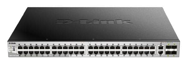 D-Link 54 port Stackable Gigabit PoE Switch with 6 10GbE ports