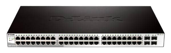 D-LINK DGS-1210-52 52-Port Gigabit WebSmart Switch with 48 UTP and 4 SFP Ports