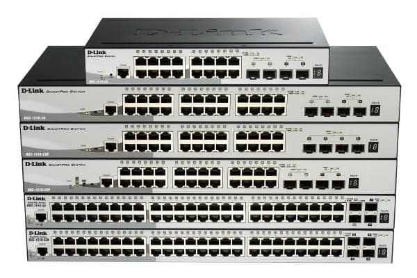 D-LINK DGS-1510-52X 52-Port Gigabit SmartPro Switch with 48 UTP and 4 SFP+ 10G Ports