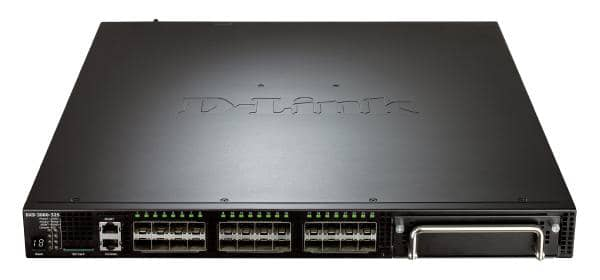 D-Link 32-Port 10 Gigabit Layer 3 Managed Stackable Switch with 24 SFP+ Ports and 1 Expansion Module Slot