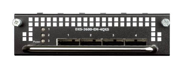 D-LINK DXS-3600-EM-4QXS 4-Port 40G QSFP+ Module for DXS-3600 series