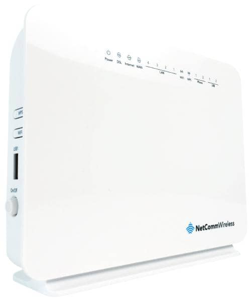 NetComm NF10W N300 WiFi VDSL/ADSL Modem Router with Voice - Gigabit WAN, 4 x LAN, 2 x USB Storage  ** NBN Compliant **