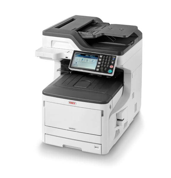 OKI MC853dn Colour A3 23 - 23ppm (A4 speed) Network Duplex 400 sheet +options 4-in-1 Multi-Function Printer-  Reseller Cashback 01Nov-31Dec19 !
