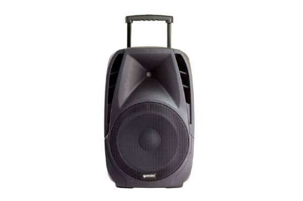 "Gemini ES-15TOGO Portable PA speaker system (15"" Active battery-powered loudspeaker 