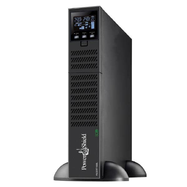 PowerShield Centurion RT 1000VA Long Run Model True Online Double Conversion Rack / Tower UPS, larger internal charger for connected battery modules