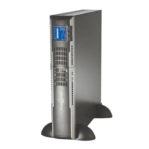PowerShield Commander RT 2000VA / 1600W Line Interactive, Pure Sine Wave Rack / Tower UPS with AVR. Extendable & hot swap batteries, IEC & AUS Plugs