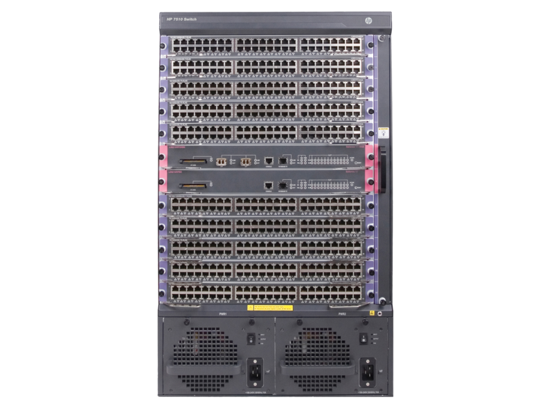 HP FlexNetwork 7510 Switch Chassis (JD238B)