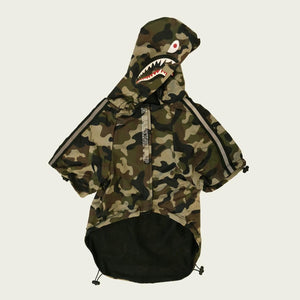 Camouflage Dog Hoodie - The Urban Pride