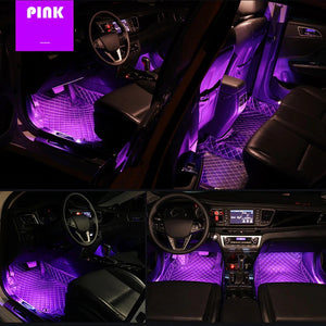 Car Interior RGB Strip Light - The Urban Pride