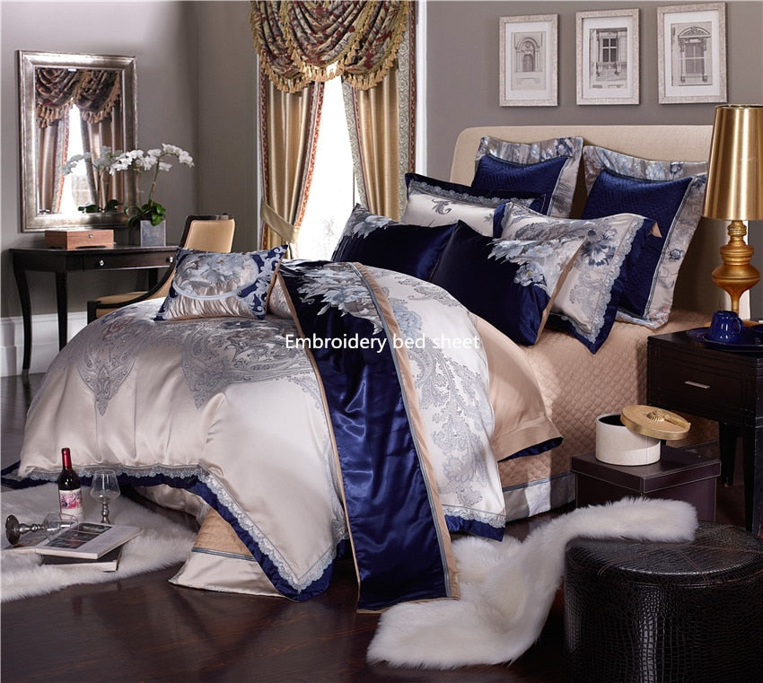 Buckingham Royal Duvet Cover Set  (10 Pieces) Bedding - The Urban Pride