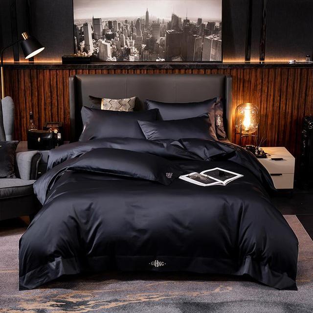 Ultra Soft Pure Egyptian Cotton Duvet Cover Set (4/6 Pieces) - The Urban Pride