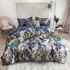 Botanic Paradise Egyptian Cotton Bedding Duvet Set (4/6 Pieces) - The Urban Pride