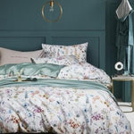Brisbane Silky Cotton Duvet Cover Set (4/6 Pieces) - The Urban Pride