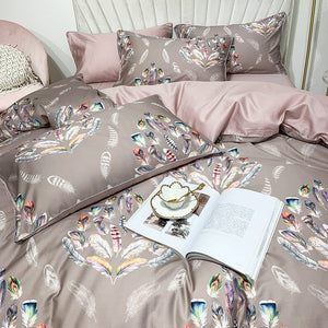 Windsor Silky Cotton Duvet Cover Set (4/6 Pieces) - The Urban Pride