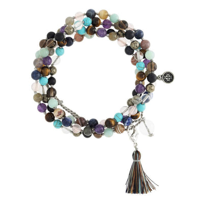 108 Bead 'I am ME' Wrap Mala - malaandmantra