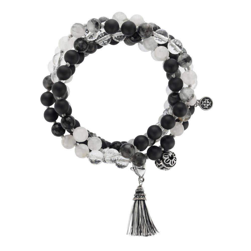 Strength Adjustable Wrap Mala - malaandmantra