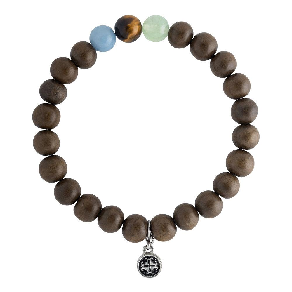 Mindful Mala Bracelet 8mm - malaandmantra
