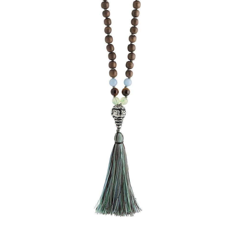 Mindful 108 Bead Hand-Knotted Mala 6mm - malaandmantra