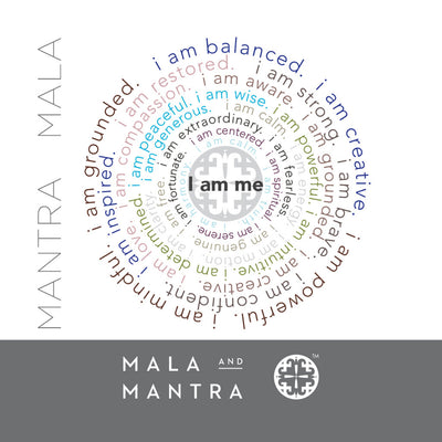 108 Bead 'I am ME' Wrap Mala