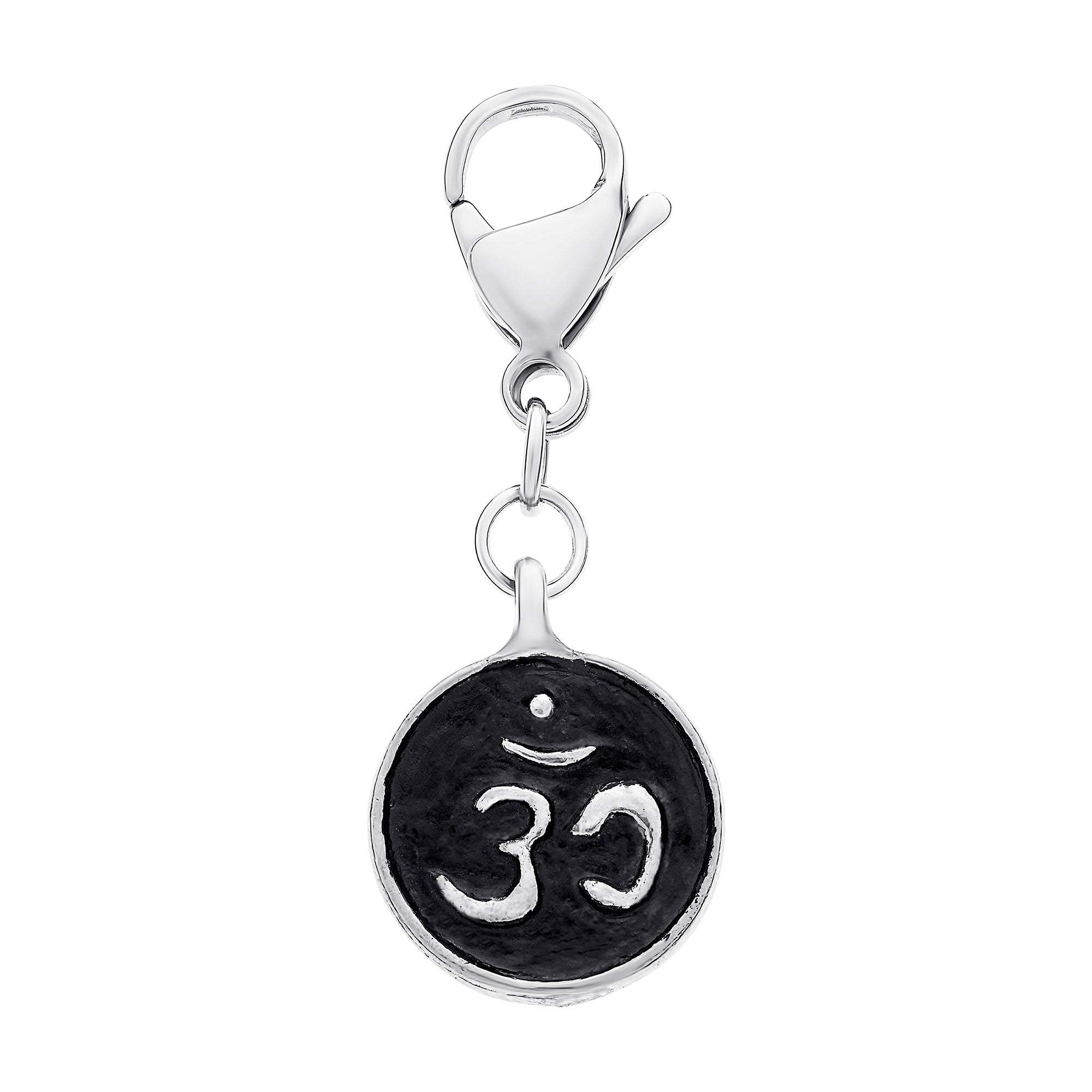 Detachable Om coin charm