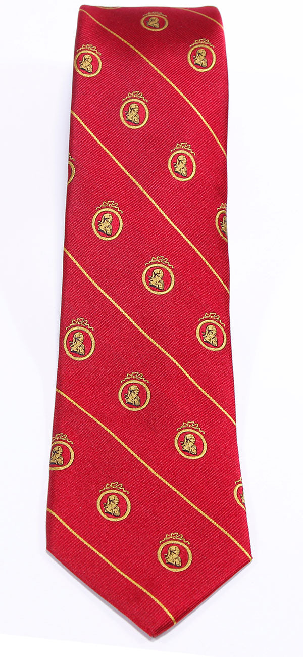 Adam Smith Red Necktie