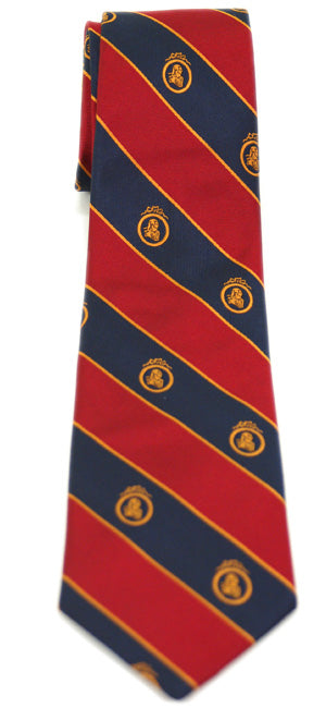 Adam Smith Navy and Red Necktie