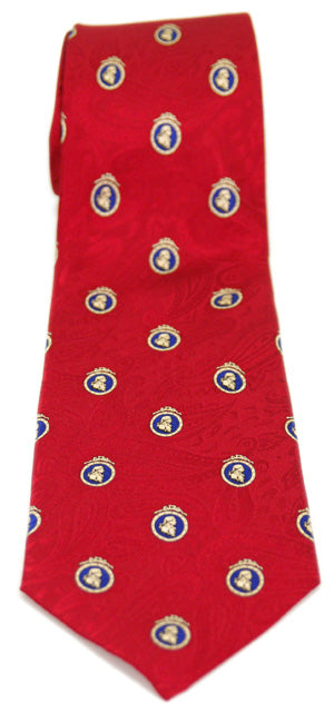 Adam Smith Brick Red Necktie