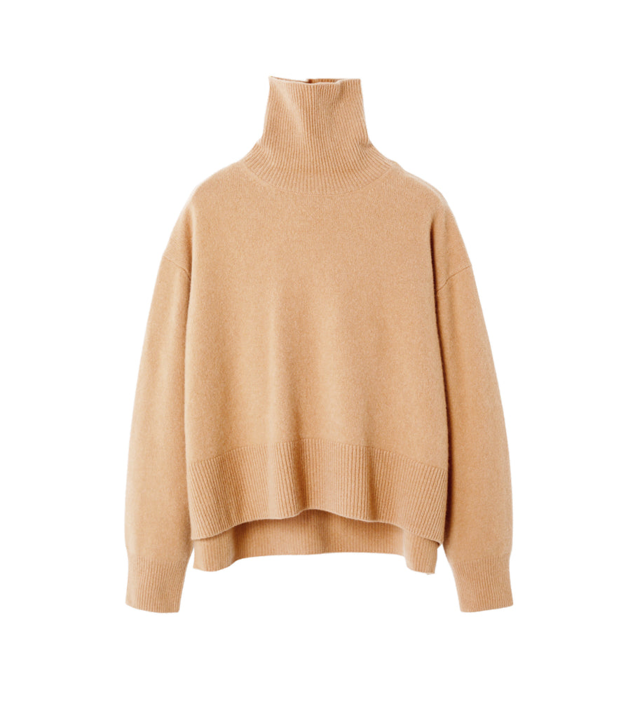 Turtleneck Boil Knit Tops