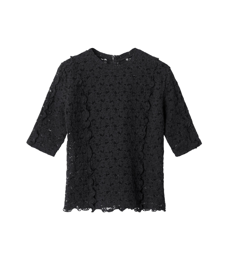 Stretch Lace Merrow Tee