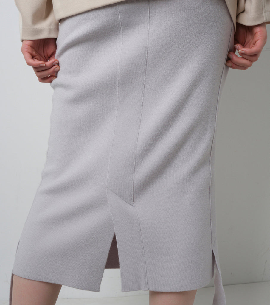 Wool Smooth Skirt