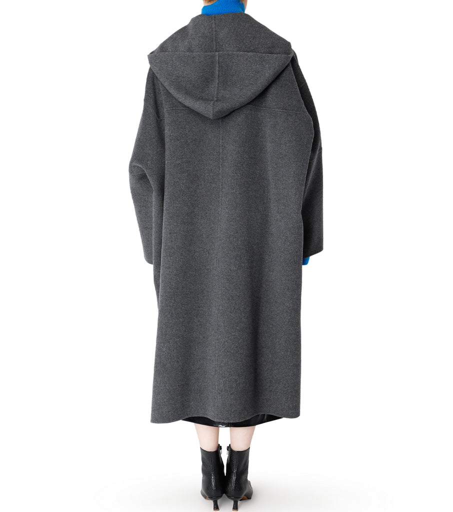 Hooded Over Coat