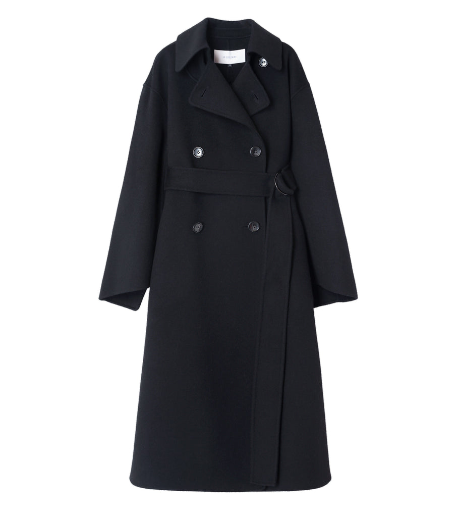 Double Faced Wrap Coat