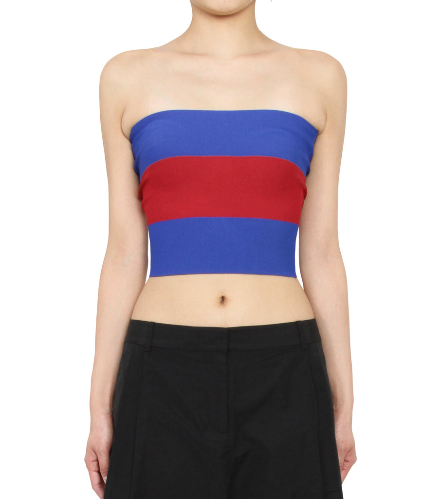 Rugby Knit Bandeau Top