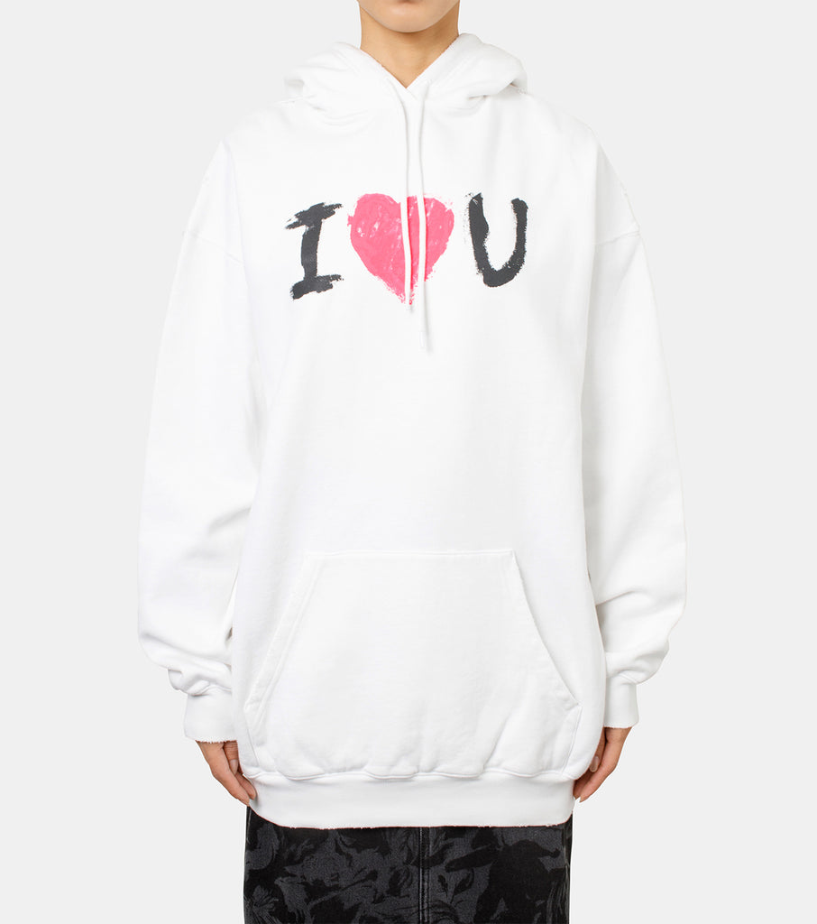 Medium Fit Hoodie I Love U