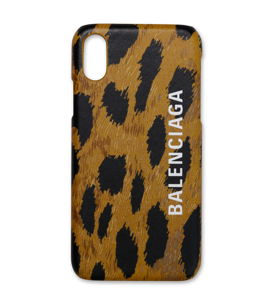 Iphone X/XS Case Leo Print