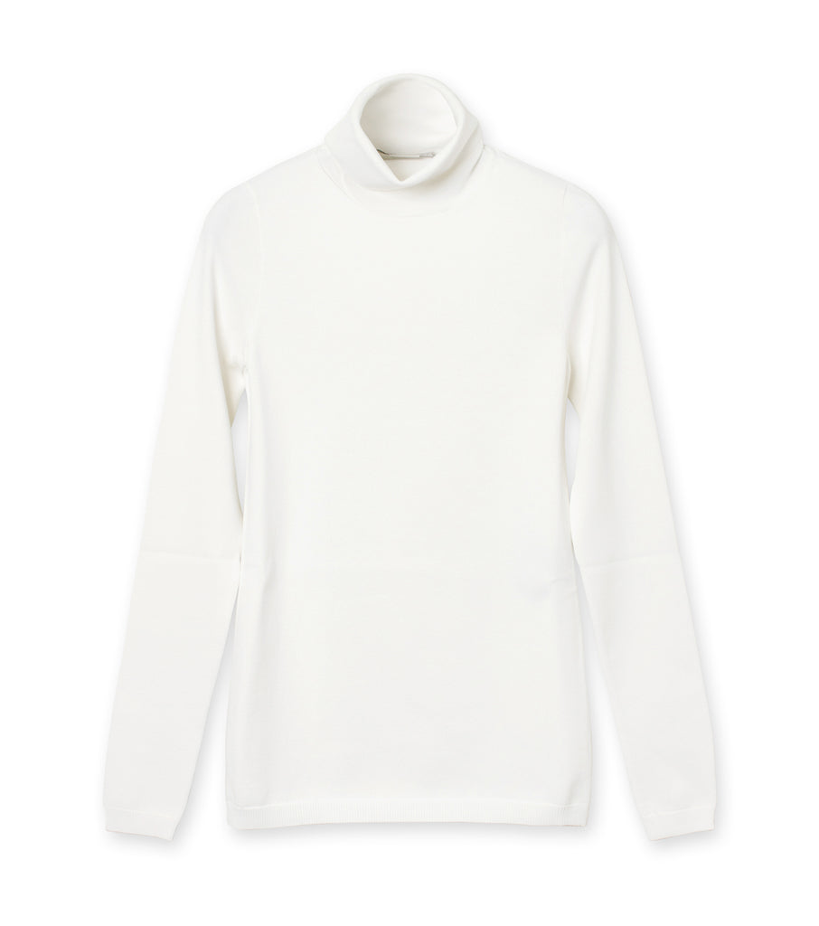 Turtle Neck Jumper Compact Knit