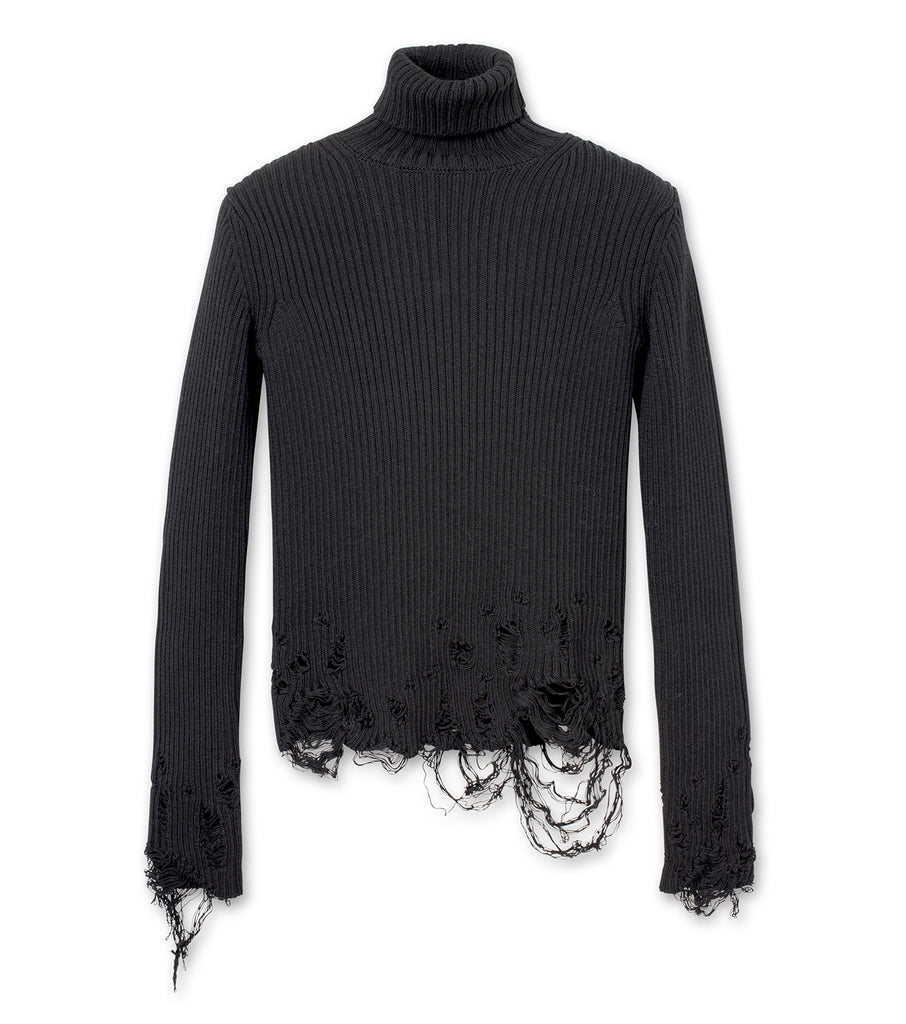 L/S Turtleneck Fitted