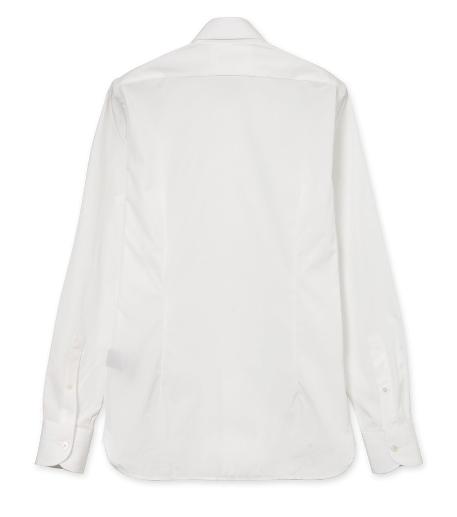 COTTON PLEATS SHIRT