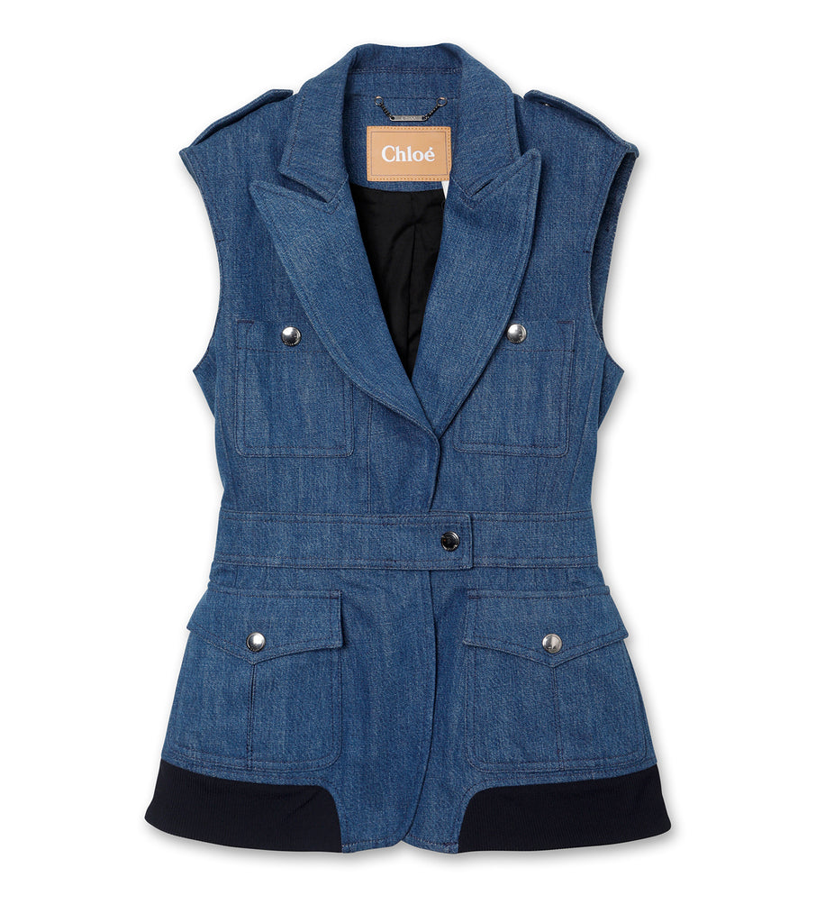 Denim Sless Jacket