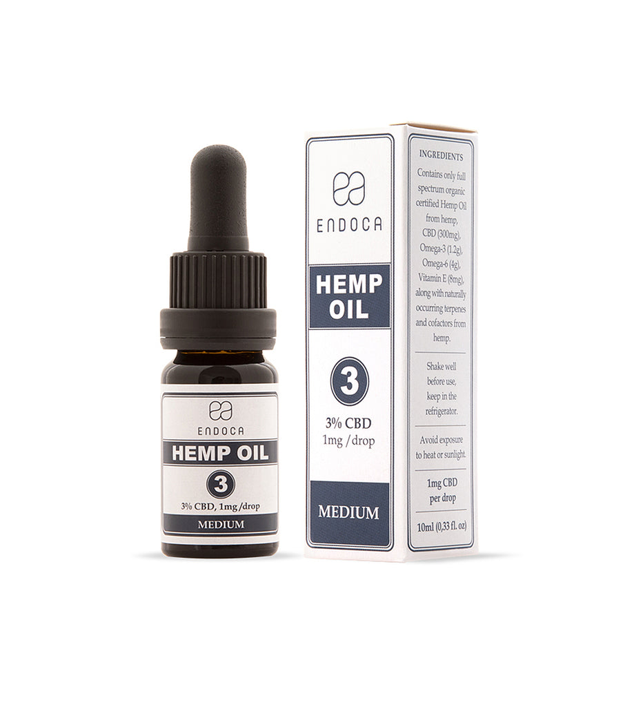 Hemp Oil Drops 300mg CBD