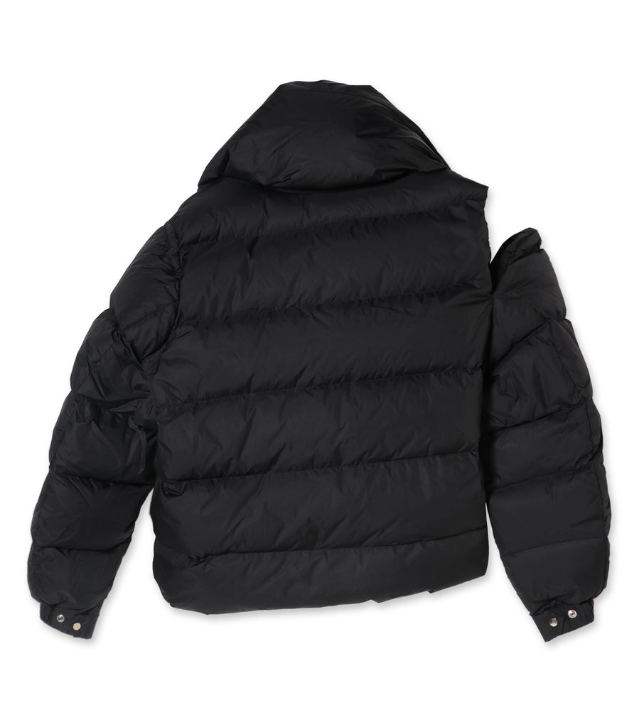 Asymmetric Puffa Jacket