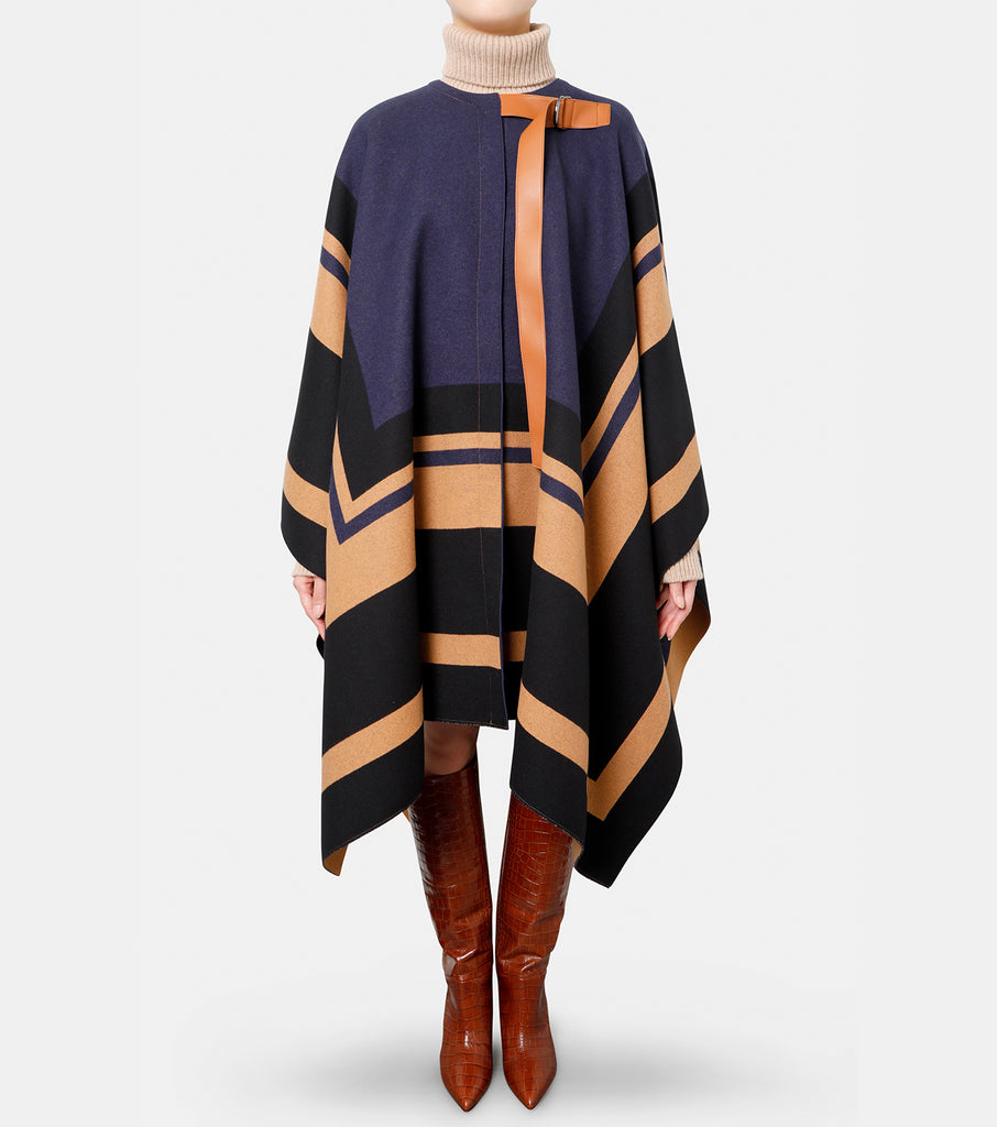 Blanket Wool Cape
