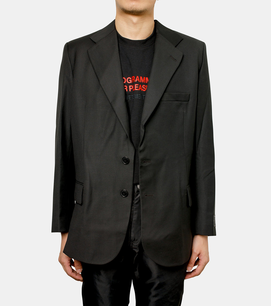 CUT-OUT TAILORED JACKET