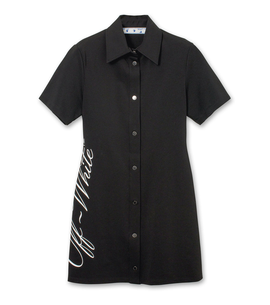 Logo Shirt Dress