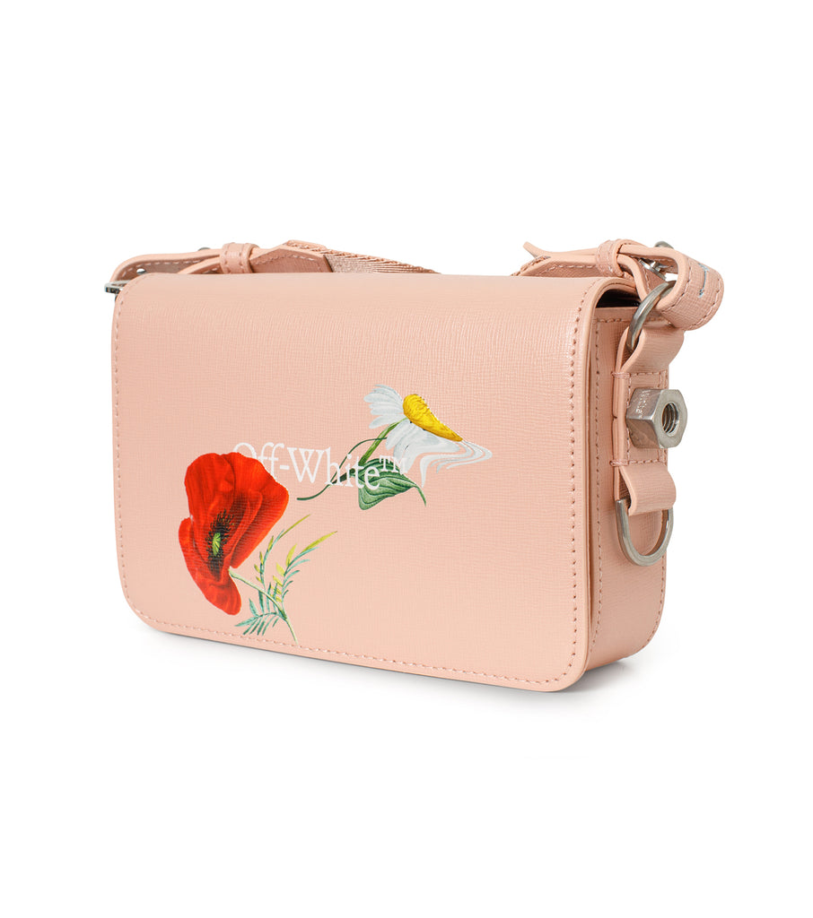 Flowers Mini Flap Bag