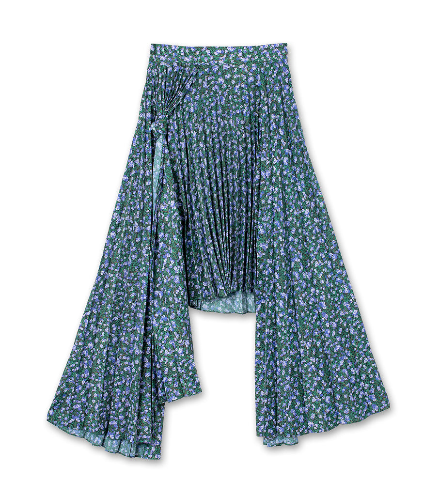 Knotted Triple Skirt