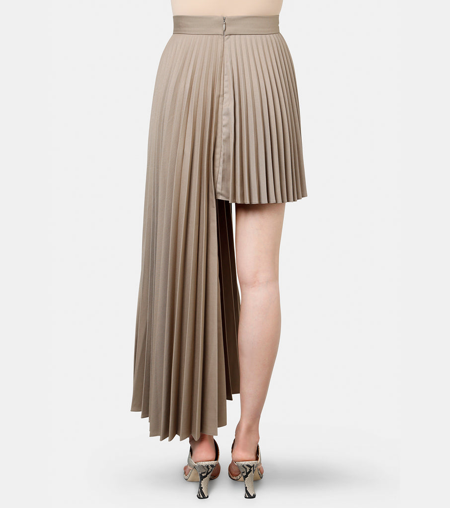 Mini Panel Pleat Skirt